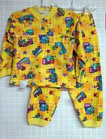 Детская пижама для мальчика начес, 122-128 см