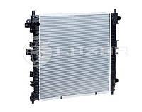 Радиатор охлаждения kyron/actyon 2.0/2.3 (05-) мкпп (lrc 1750) luzar (производство Luzar ), код запчасти: LRC1750