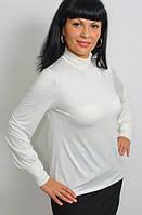 Гольф женский из трикотажа с драпировкой (бл 263077)