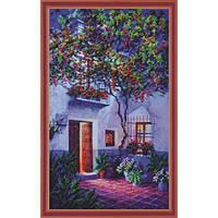 Набор для вышивания Картины Бисером Р-154 Ночная Испания 1