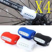 Led, светодиодная подсветка для велосипеда на раму, багажник. Задний светодиодный фонарь, велофонарь, фото 1