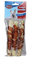 Trixie TX-31326 Denta Fun Chewing Rolls with Chicken палочки с филе курицы ( 28см,3шт/250гр)