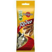 Pedigree  Rodeo 70г *2шт -мясные косички ля взрослых собак всех пород