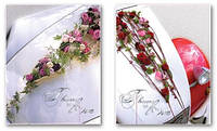 Свадебный фотоальбом EVG 10sheet S35x35 Flowers in Love w/box