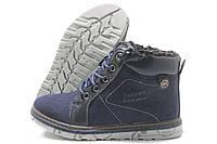 Ботинки детские Jong-Golf С2698 зимние темно-синие 32-37р.