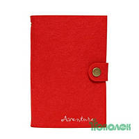 Блокнот Aventura AVN-04-R красный на кольцах