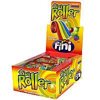 Жевательные конфеты Fini Roller фрукты 800g 40 шт