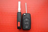 Ключ AUDI выкидной 3+1 кнопки 315Mhz id48. 4DO 837 231 M