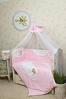 Детский комплект постельного белья для новорожденных Солнышко