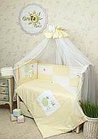 Постельное белье для новорожденных в детскую кроватку Игрушка