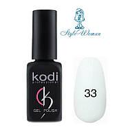 Kodi professional гель лак Коди 33 ярко белый эмаль 8мл