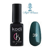 Kodi professional гель лак Коди 39 темно серый эмаль 8мл