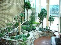 Фото комнатные водопады, фонтаны, зимние сады. - картинка 4 .
