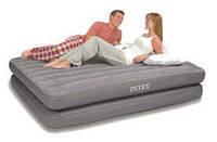 Двуспальная надувная кровать Intex 67744 2-IN-1 AirBed (без насоса 152 х 203 х 46 см)