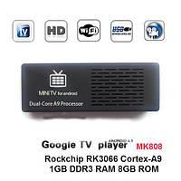 MK808 Dual Core Android 4.2 Jelly Bean TV BOX RK3066 Cortex-A9 Mini PC