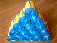 Полиэтиленовые мусорные пакеты, мешки для мусора, прочные 35 л / 55 шт, мусорный пакет