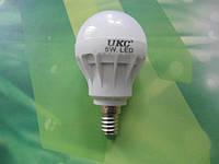 Лампочка LED LAMP E14 5W  UKC Энергосберегающая Круглая