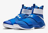 Кроссовки баскетбольные мужские Nike Lebron Soldier 10 Zoom Kentucky 2 Оригинал