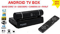 МК928 Android tv box 4ядра 2гб DDR3 LAN USB Camera 5МП + MIC  пульт +НАСТРОЙКИ I-SMART