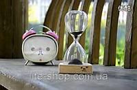 Часы песочные декоративные стеклянные Magnet Hourglass