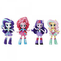 My Little Pony Equestria Girls Minis Elements of Friendship Sparkle Collection -  Девочки Эквестрии Флатершай, Пинки Пай, Рарити, Спаркл