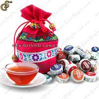 """Китайский чай Пуэр - """"Puer Tea"""" - 50 шт. (мини-точа) + Подарочный мешочек!"""