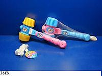 Детский музыкальный молоточек с погремушкой 030 (25003)