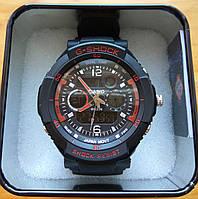 Мужские часы Casio G-Shock GWG-1000-1A3ER Красные