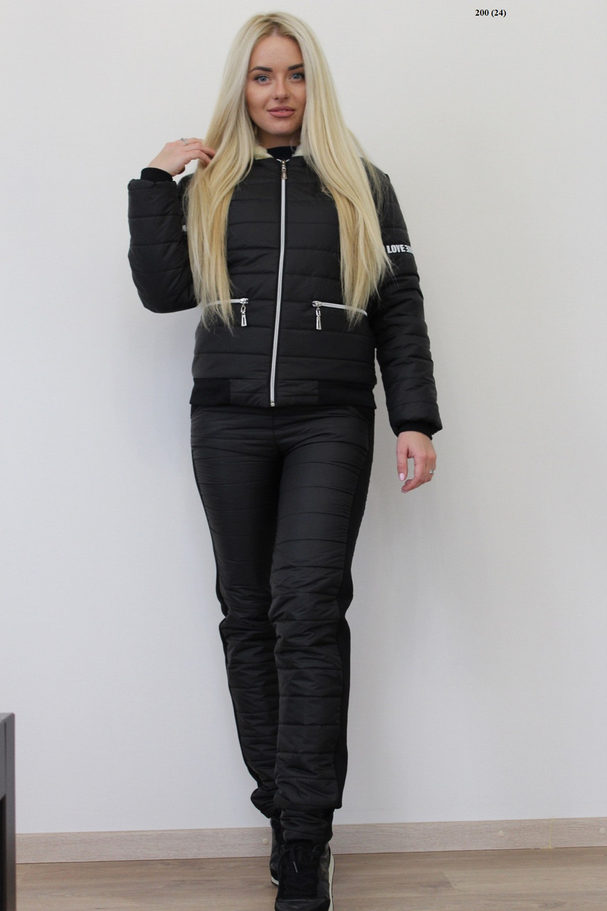 Черный костюм женский купить