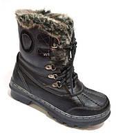 Зимние женские ботинки ZOOM черные, р. 36-41