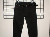 Штаны брюки детские для девочки на флисе 6-10 лет