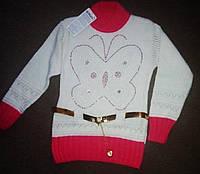 Красивая модная  туника  свитерок  для девочки 136-142 Турция