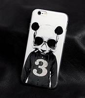 Чехол-накладка для Iphone 5 / 5S с картинкой Панда
