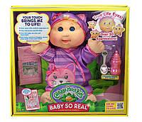 НОВИНКА 2016 год Интерактивная, как живая кукла Пупс Капустка Cabbage Patch Kids Baby So Real Interactive Doll