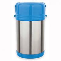 Термос пищевой со стеклянной колбой и контейнерами  2 л.Kamille 2101