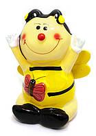 Пчелка с бабочкой копилка в подарок