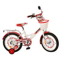 Велосипед PROFI UKRAINE детский 16д. P 1639 UK-1 (1шт)бел-кр,звон,зер,кор,пр кол,в кор-ке,69-16-41см