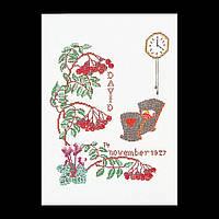 Набор для вышивки крестом 871 Ноябрь, November (Теа Гувернер)