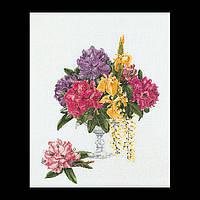 Набор для вышивки крестом 1074 Рододендрон. Rhododendron  (Теа Гувернер)