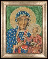 Набор для вышивки крестом 469А   Мадонна из Честогова. Madonna of Czestochowa (Теа Гувернер)