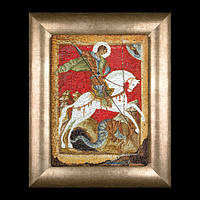 """Набор для вышивки крестом 498А Икона """" Св. Георгий и змей"""". Icon St. George and the Dragon  (Теа Гувернер)"""