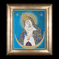 Набор для вышивки крестом 530А Остробрамская икона Божией Матери. Our Lady of the Gate of Dawn (Теа Гувернер)
