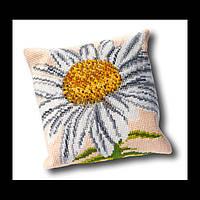 Набор для вышивки крестом 023.4002 Маргаритка Подушка. Marguerite Cushion  (Теа Гувернер)