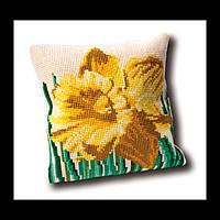 Набор для вышивки крестом 023.4004 Нарцисс подушка.  Narcis Cushion  (Теа Гувернер)