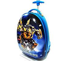 """Детский чемодан дорожный на колесах """"Josef Otten"""" Transformers 520205"""