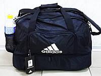 Спортивная сумка Adidas(копия) 0563 с отделом для обуви черная