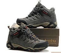 Мужские зимние ботинки COLUMBIA BL_3579 в наличии, серые. РАЗМЕР 41-44