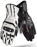 Мотоперчатки женские Shima ST-2 белые черные XS