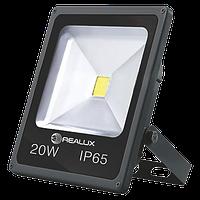 Светодиодный прожектор 20Вт 1500 Лм 6000-7000К Realux