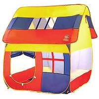 """Большая одноместная 8078 игровая детская палатка """"Маленький дом"""" Длина: 126 см Высота: 108 см Толщина: 110 см"""